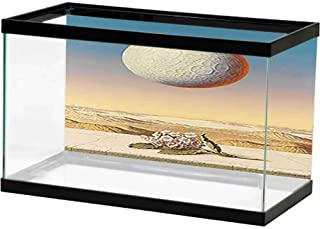 bybyhome HD Aquarium Background Modern, Architecture, City, Landscape (70) Waterproof, Durable and Easy Clean