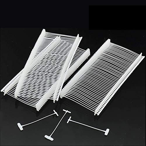 JZK 5000 Lunghezza 50 mm fili sparafili bianchi fili a paletta per pistola sparafili per etichette targhette e cartellini