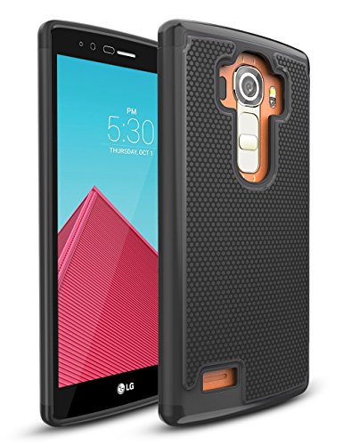 LG G4 Case,TILL(TM) [Resilient Series] Shock Absorbing Dual Layer...