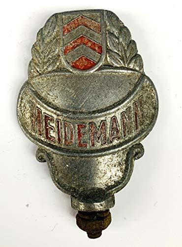 generisch Schutzblechreiter Heidemann alt Fahrrad Schutzblech Emblem Symbol Marke Sammler