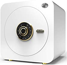 Safe Electronic Password Safe Home Small Wall Mounted Safe Office Security Safe Creative Wedding Gift (Color : White, Size...
