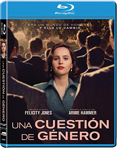 Una Cuestión De Género Bluray [Blu-ray] Felicity Jones