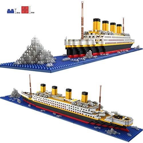 POXL Titanic 3D Puzzles Modelo, 1860 Piezas Titanic Kits de