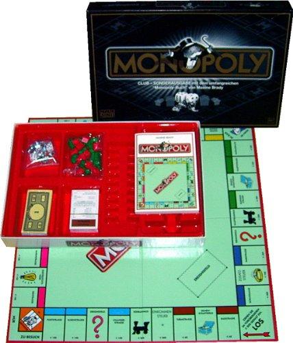 MONOPOLY CLUB-Sonderausgabe mit Monopoly-Buch (Strategie & Taktik)
