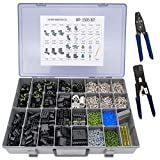 Delphi Weather Pack Pro Kit WP-1505 With 2 Crimp Tools: Sealed Weatherproof Automotive Electrical Connectors 20-12 Gauge 1505 Piece Kit With 12014254 and T-18 Crimp Tools