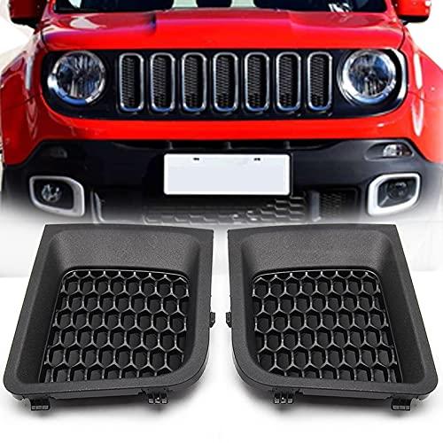 ZWMBAOR Grades de radiador dianteiro, para J-eep Renegade 2015-2017, grade de capota do para-choque dianteiro do carro, acessórios de estilo do corpo para cobertura da saída de ar, acessórios de substituição para modificações de carro, G