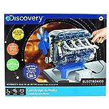 Discovery- Construye, Juegos, Maquetas para Nios, Construccion, Motor de Juguete, Color Blanco, Talla nica (6000179)