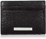 Armani Exchange Credit Card Holder - Portafogli Uomo, Nero (Black), 8x0.4x10 cm (B x H T)