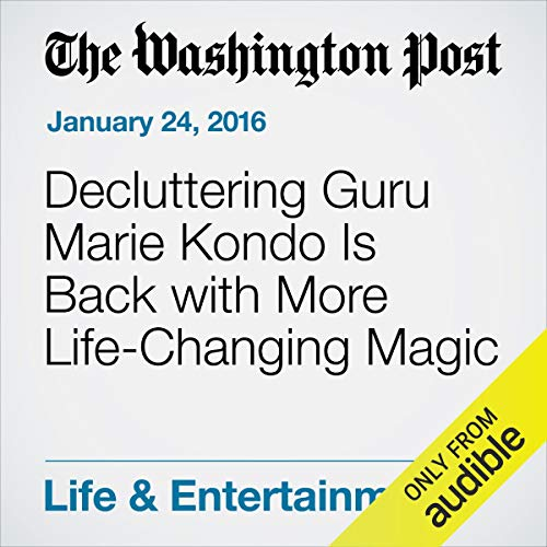 Decluttering Guru Marie Kondo Is Back with More Life-Changing Magic cover art