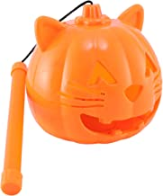 KESYOO Pumkin Night Light Halloween Pumpkin Lantern Handheld Lanterns Hanging Light Decorative Lamp for Halloween Home Bar