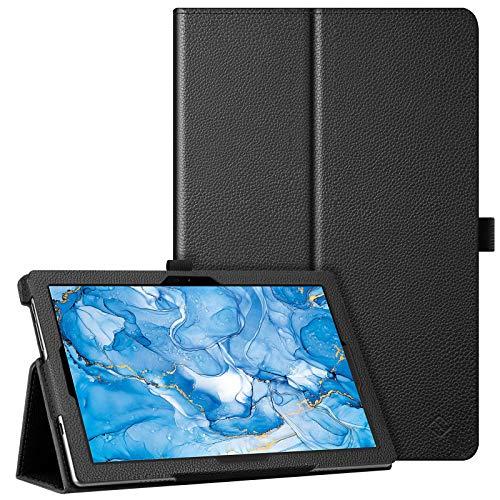 Fintie Hülle für TECLAST P20HD / M40 10 Zoll - Slim Fit Kunstleder (Folio) Schutzhülle Tasche Hülle Cover Standfunktion & Stylus-Halterung für Blackview Tab8 10.1