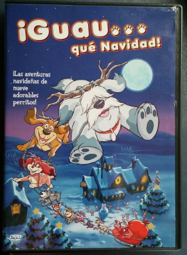 ¡Guau... qué Navidad! [DVD] 🔥