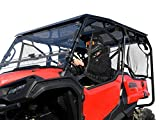 SuperATV Dark Tinted Roof for 2016+ Honda Pioneer 1000-5   Blocks UV Rays and Heat from Sun   1/4' Thick Polycarbonate   Year-Round Use   Protects Against Debris   Snug, Rattle-Free Fit   USA Made!