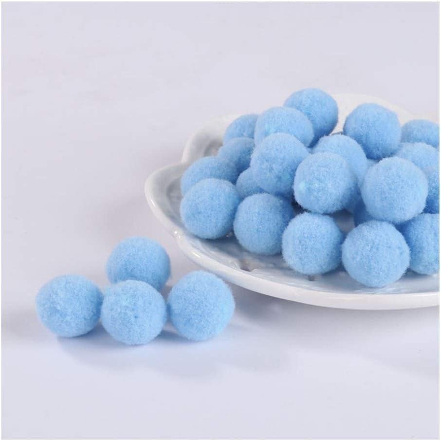 HONGTAI 5 ☆ very popular Pompom Soft Pompones Fluffy Plush Poms F Max 56% OFF Pom Ball Crafts