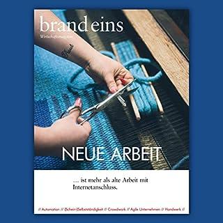 brand eins audio: Neue Arbeit Titelbild