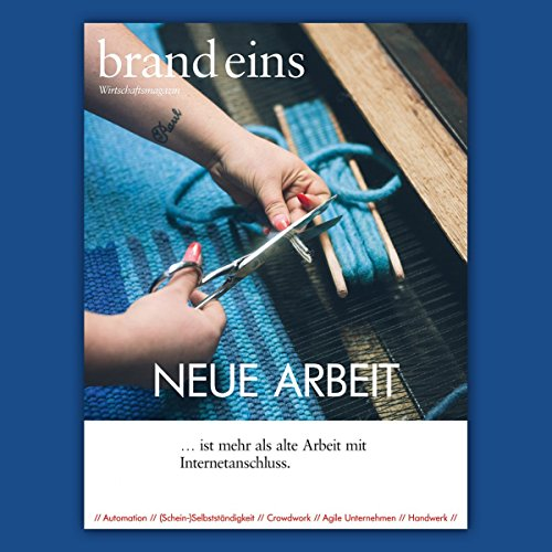 brand eins audio: Neue Arbeit audiobook cover art