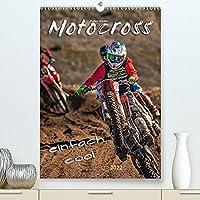 Motocross - einfach cool (Premium, hochwertiger DIN A2 Wandkalender 2022, Kunstdruck in Hochglanz): Motocross - faszinierender Extremsport mit spektakulaeren Spruengen (Monatskalender, 14 Seiten )