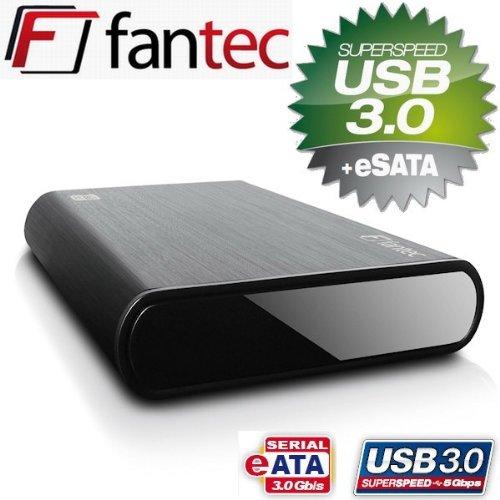 FANTEC DB-ALU3e 4TB schwarz Externe Festplatte USB