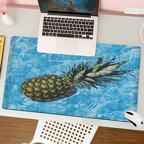 Alfombrilla para ratón (80x30 cm). Piña de Frutas de Verano en Agua...