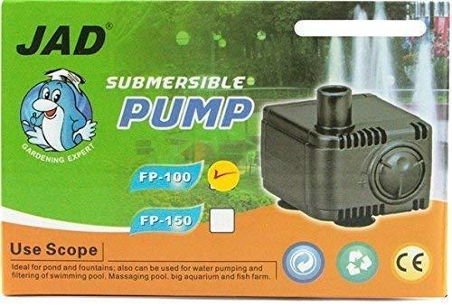 Jad Mini Filterpumpe FP100 bis 120 L/H / Pumpe Förderpumpe für Nano-Aquarien