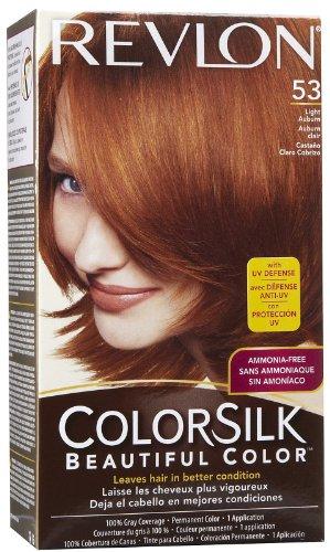 Colorsilk Permanent Haircolor - Light Auburn (53/5R)
