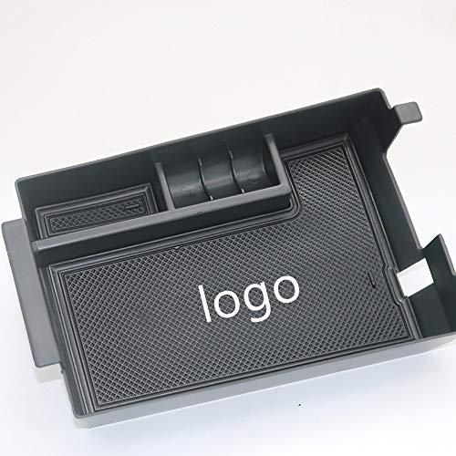 Lfldmj Caja de Almacenamiento para reposabrazos, para BMW Serie 3 2019 2020 G20 330i 320 Bandeja organizadora de contenedor de Almacenamiento de Consola Central