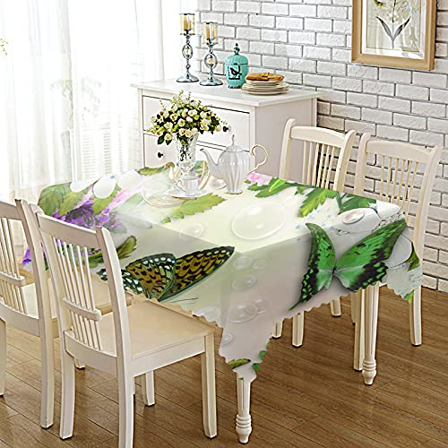 CYYyang Plastic Table Cloth With Retro Polkadot Thickened color printed fabric