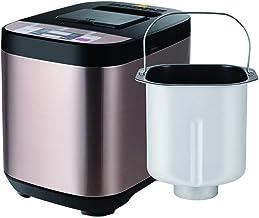 WONOOS Breadmaker Home Automatic Bread Machine, con 19 programas, programable automáticamente, Temporizador de retardo de 13 Horas, dispensador de Frutas y nueces para Mantener Caliente 1 Hora