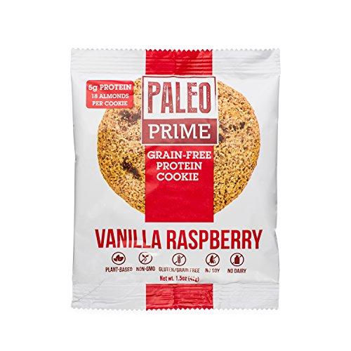 Paleo Prime Vanilla Raspberry Cookie - 12 ct