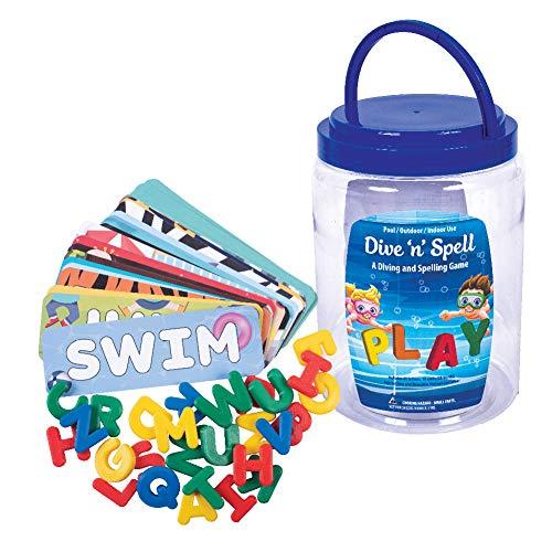 GAME 44024-BB Dive'n'Spell Kids Pool Toy, Multi