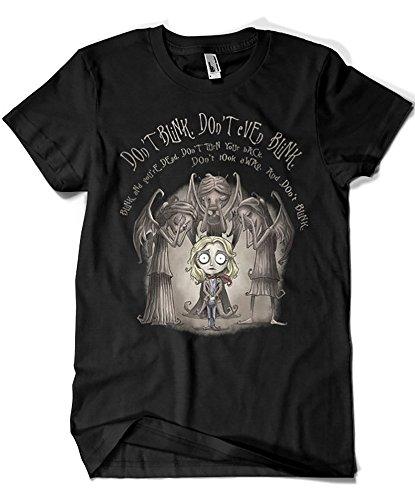 Camisetas La Colmena 1919-Parodia Doctor Who Dont Blink (Saqman)