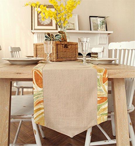Sucastle® 35X200cm tissu Chemin de Table Cuisine Imperméable Décoration en Aspect naturel