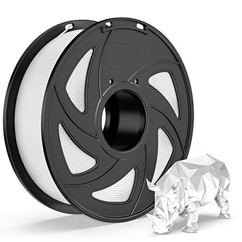 E-DA PLA+ Filament 1.75mm 1kg Spool PLA Plus 3D Printer Filament 3D Printing Materials Dimensional Accuracy +/- 0.05mm White