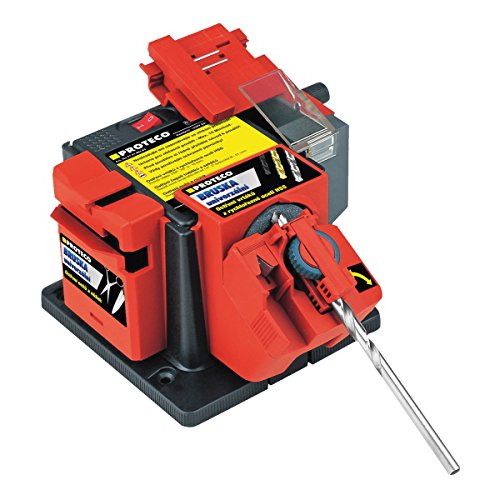 Proteco-herramienta Universal de pulir estación de motosierra afilador de cuchillos 65 Watt