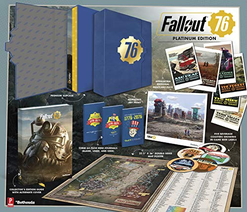 Fallout 76: Official Platinum Edition Guide: Prima Official Platinum Edition Guide