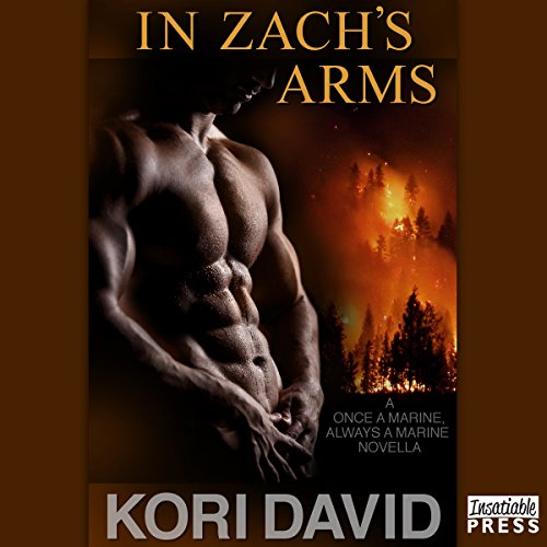In Zach's Arms audiobook cover art