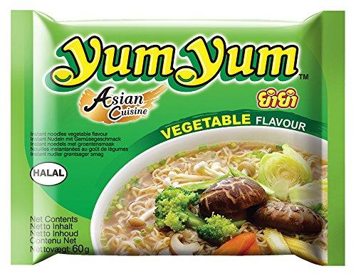 Yum Yum Instant Nudeln Gemüse 60g, 45er Pack (45 x 60 g)