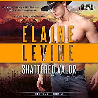 Shattered Valor audiobook cover art