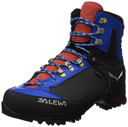 Salewa Men's Raven 2 GTX Mountaineering Boot, Mayan Blue/Papavero, 11