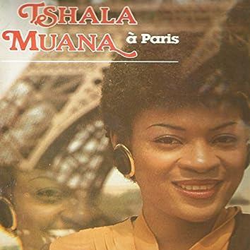 Tshala Muana à Paris