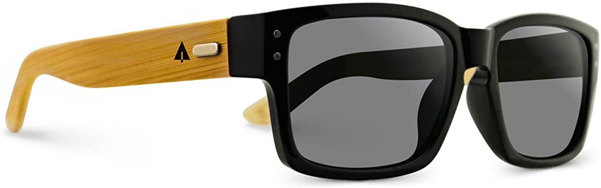 TREEHUT¨ Wooden Bamboo Sunglasses Bombing new work Keyhole Square Classic Manufacturer OFFicial shop Temples