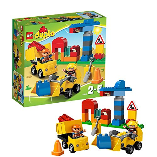 LEGO 10518 - LEGO Duplo Town, Il Mio Primo Cantiere
