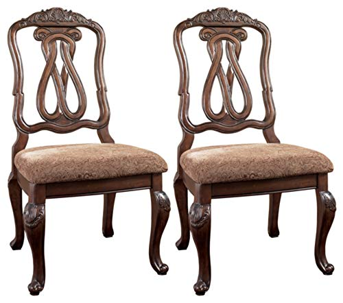 Signature Design by Ashley North Shore Dining Room Chair, Dark Brown