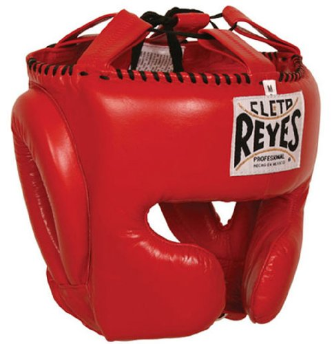 CLETO REYES Headgear with Cheek Protection - Red L