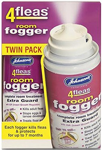 Johnson's 4fleas Room Fogger Twin Pack (2x100ml)
