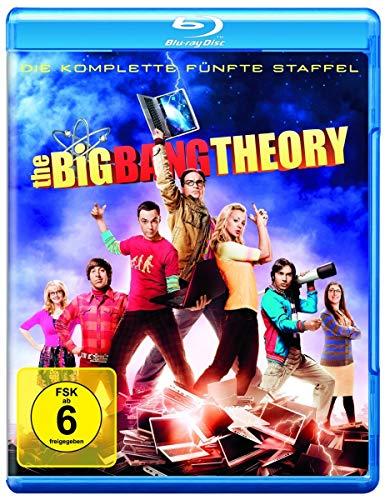 Cover The Big Bang Theory - Die komplette fünfte Staffel [Blu-ray]