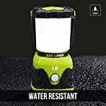 LE Camping Lantern, 1000 Lumen LED Outdoor Lights, 4 Modes Battery Powered Emergency Light, Water Resistant Tent Light…