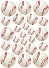 23 Baseballs Baseball Peel and Stick Vinyl Stickers Wall Art Graphics Decal