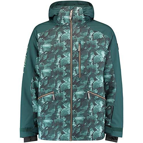 O'NEILL PM Diabase Jacket Chaqueta Hombre con Capucha, Green AOP, M