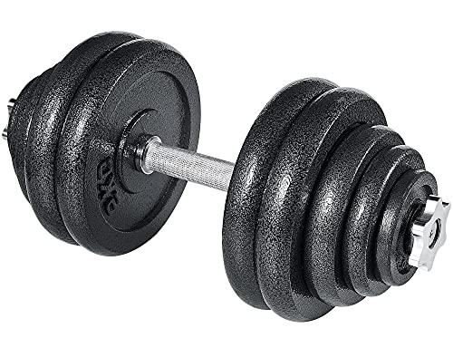 arteesol Kurzhanteln-Verstellbares Gewichte Hantel, Handeln, Hantelset, Kurzhantel 10kg 15kg 20kg 30kg Workout Fitness Training